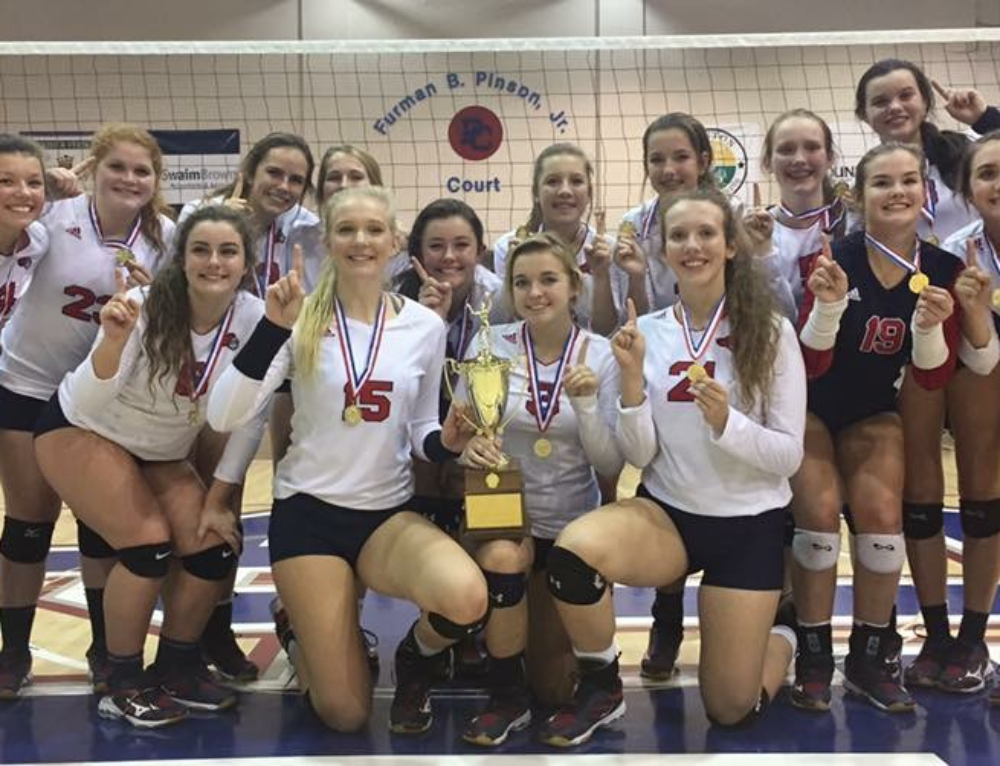 SCISA 2A Volleyball State Champs!