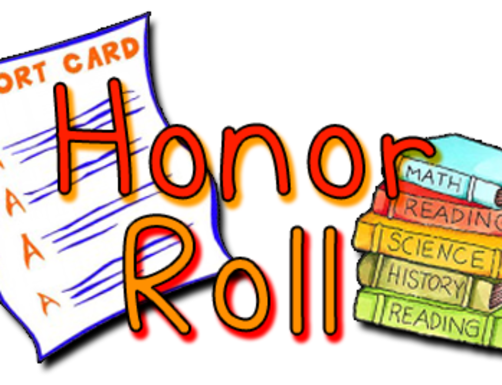 2017-2018 Quarter 1 Honor Rolls