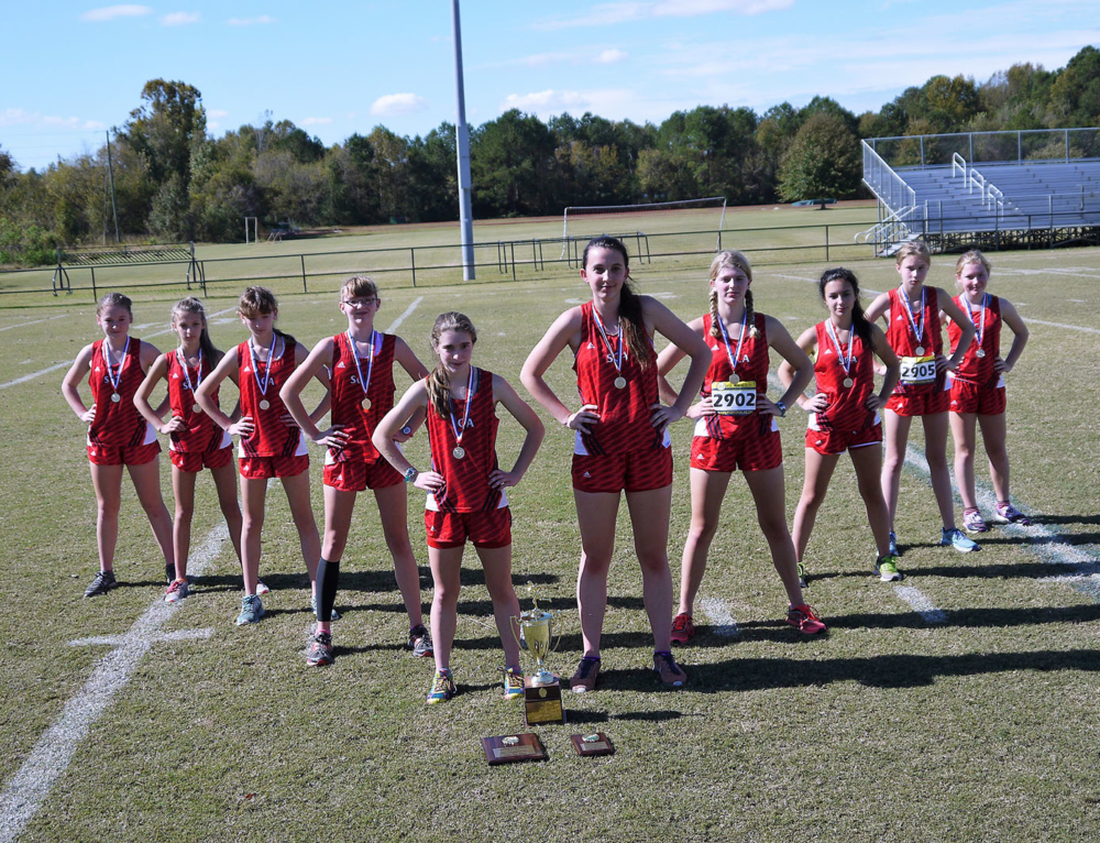 13th Straight Win for our Cross Country Lady Warriors!