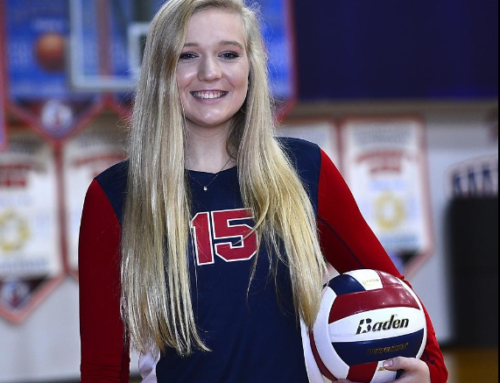 Peyton Thompson Named Volleyball Player of the Year!