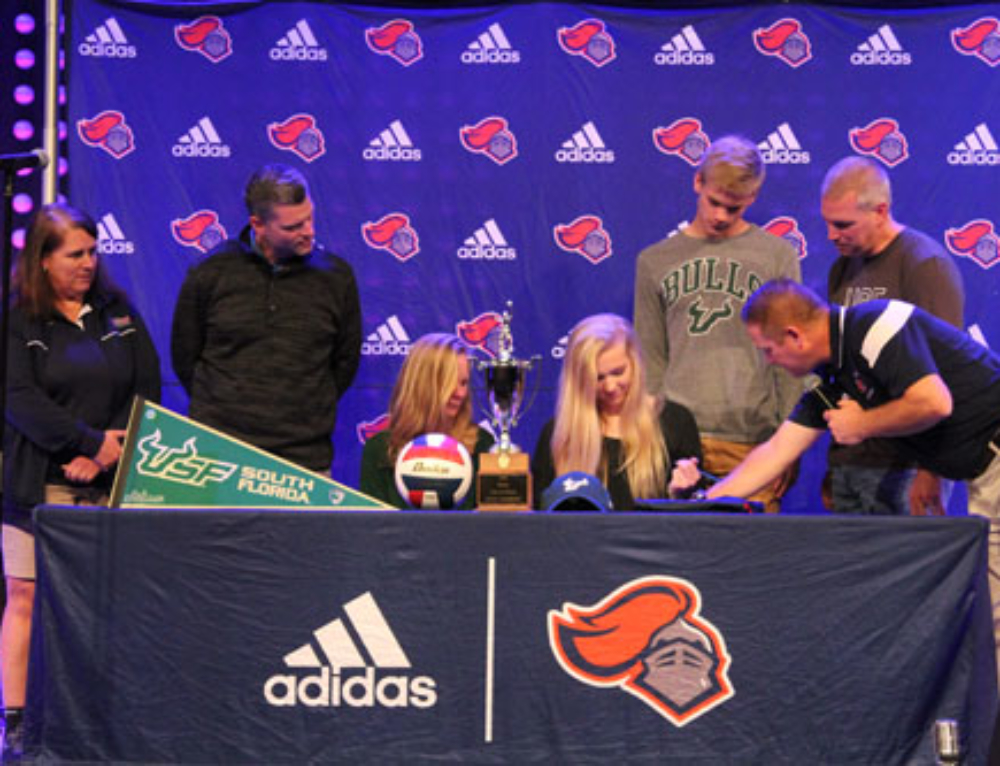 Peyton Thompson signs with USF
