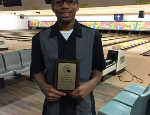 Ethan Collier Wins 3rd Place in the SCISA State Bowling Championship!