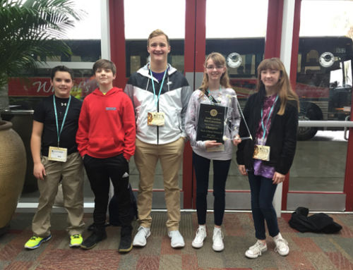 Awards Won at Junior Beta Club State Convention!